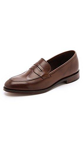 loake-1880-mens-whitehall-burnished-saddle-loafers-dark-brown-7-uk-8-dm-us-men