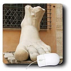 Danita Delimont - Statues - Constantine I, Statue, Capitoline Museums. Rome, Italy - EU16 PRI0089 - Prisma - Mouse Pads