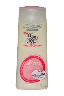 L'Oreal Paris Go 360 Clean, Deep Cream Cleanser, 6-Fluid Ounce