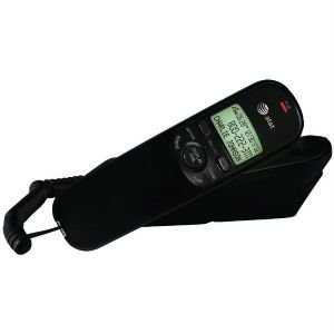 Att Tr1909B Corded Trimline Phone With Caller Id (Black)