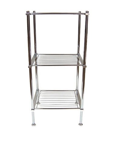 Fantastic Tier Chrome Shower Caddy Bathroom Wall Storage Shelf Rack Organiser