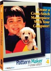 Pattern Maker Cross Stitch Software: Professional Version 4.0