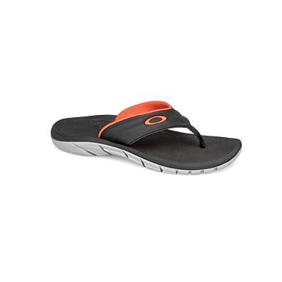 Oakley Men's Supercoil '13 Black/Orange Sandal 7 D - Medium