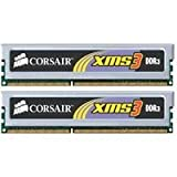 Corsair TW3X4G1333C9 XMS3 4GB 2 X 2 GB PC3-10666 1333Mhz Dual Channel 240-pin DDR3 Desktop Memory