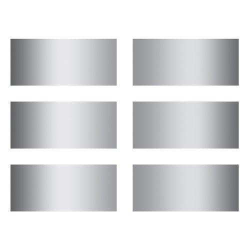 Eureka Rectangles Scratch-Off Stickers
