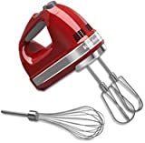 KitchenAid KHM7210ER 7 Speed Digital Hand Mixer - Red