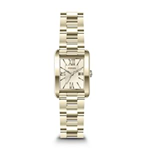 Fossil Women's ES3520 Florence Analog Display Analog Quartz Gold Watch