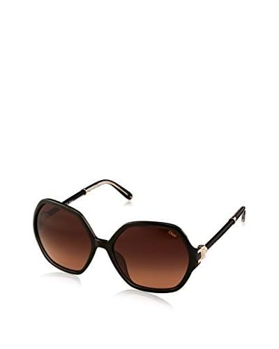 Chloè Women's CE638SL Sunglasses, Black/Brown