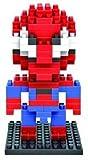 Marvel Avengers Diamond Blocks/Micro Bricks -Spider Man/Hulk/Captain America/Iron Man/Bat Man/Super Man/Thor/Wolverine (Spider Man)