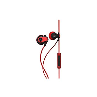 BlueAnt PUMP BOOST Green Wired Dual Driver Stereo Earbuds