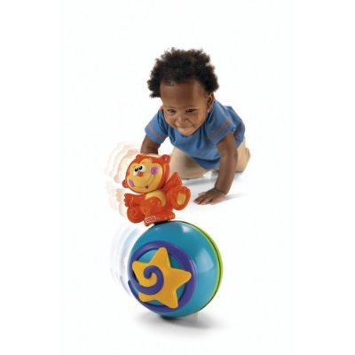 Fisher Price Crawl-Along Musical Ball - Import