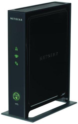 Netgear WN2000RPT-100PES - Extensor de red WiFi N300 universal (Banda 2.4GHz, 4 puertos Ethernet, incluye decodificadores de TV y video consolas), negro