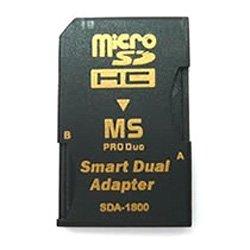 テック MicroSD→MS ProDuo変換アダプター デュアルスロットタイプ SDA-1800
