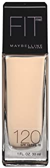 Maybelline New York Fit Me Foundation 120 Classic Ivory