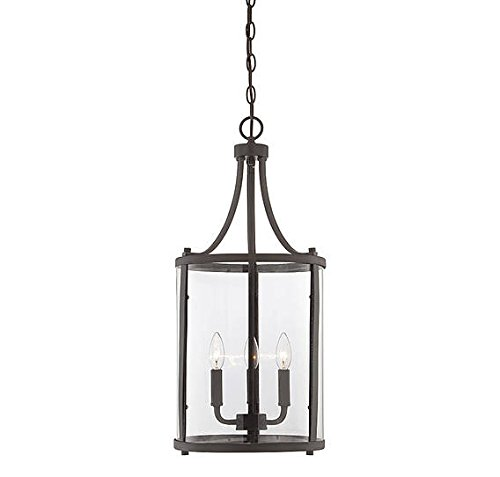 Savoy House 7-1040-3-13 Penrose 3-Lt Small Foyer Lantern in English Bronze