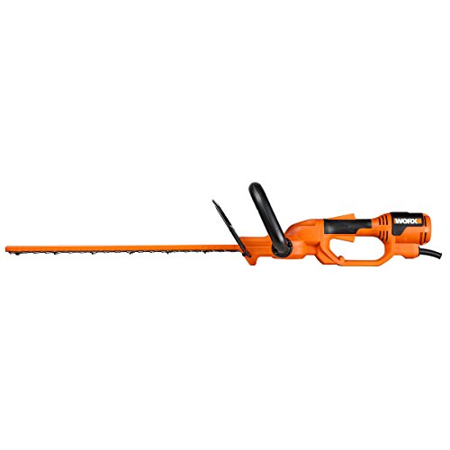 Worx Wg212 20-Inch Electric Hedge Trimmer, 3.8-Amp
