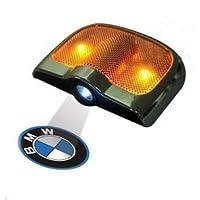 BMW LED エンブレム フットライト カーテシライト(2個セット)(ビー・エム・ダブリュー)