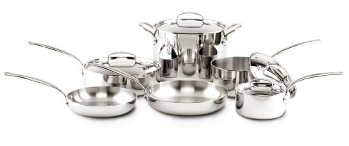 GreenPan CW0003578 10-Piece Barcelona Multilayer Stainless Steel Cookware Set