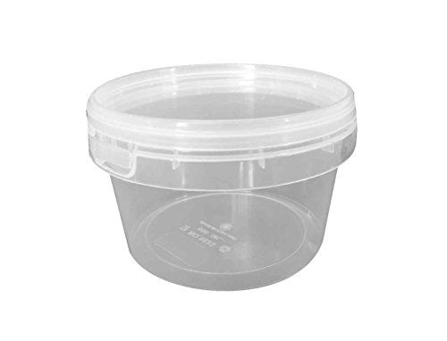Choice-Pac 3So-1623 Polypropylene Round Tub With Lid, Semi-Clear, Small, 16-Ounce (Case Of 300)