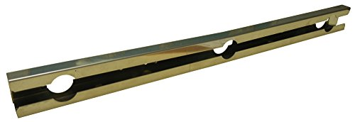 Music City Metals 08002 Stainless Steel Burner Replacement for Select Gas Grill Models by Broil-Mate, Huntington and Others
