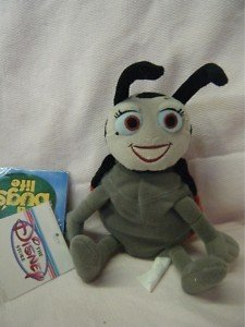 "Francis A Bug's Life Mini Bean Bag 6"" Plush - 1"