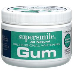 Supersmile All Natural Professional Whitening Gum 100-pieces - Buy Supersmile All Natural Professional Whitening Gum 100-pieces - Purchase Supersmile All Natural Professional Whitening Gum 100-pieces (Health & Personal Care, Products, Personal Care, Oral Hygiene, Teeth Whitening)
