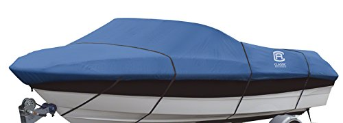 Classic Accessories Stellex All Seasons Boat Cover, Blue
