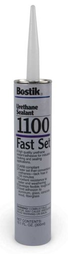 Bostik 1100 FS Fast Setting White Urethane Sealant & Adhesive 10 Oz Cartridge