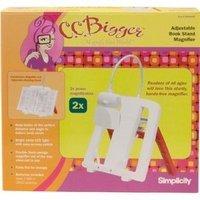C C Bigger 55501024 Book Stand Magnifier