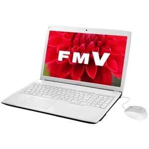 富士通 ノートパソコン FMV LIFEBOOK AH42/T アーバンホワイト(Office Home and Business Premium)FMVA42TW