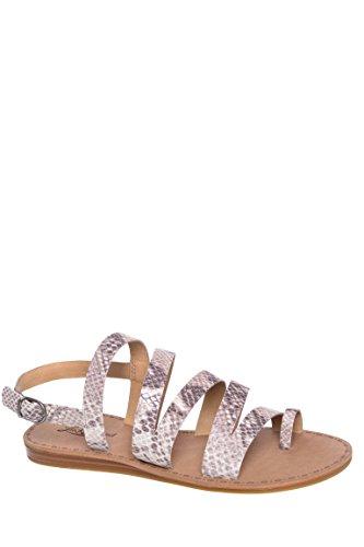 Fairfaxx Low Heel Flat Sandal