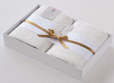 【送料無料!】最高級綿使用! 今治タオル しまなみ美人「極み」 バスタオル2枚セット《ギフト対応可/熨斗/包装/メッセージカード》