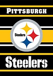 Pittsburgh Steelers 28&quot;x40&quot; 2-Sided Banner