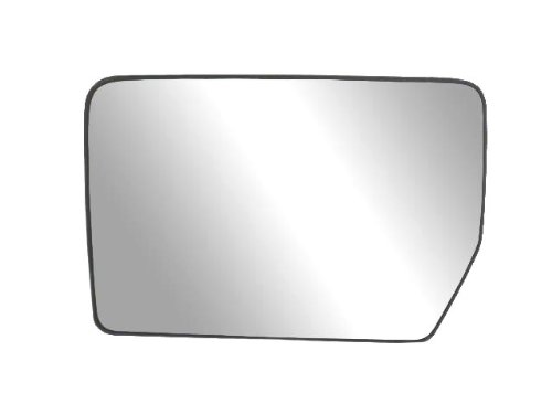 Fit System 33194 Driver Side Heated Replacement Mirror Glass with Backing Plate (2011 Ford F150 Driver Side Mirror compare prices)