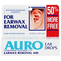 Auro Ear Drops Removal Drops