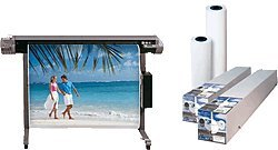 -Papier InkJet F725966 rouleau blanc 91.4cm x 30m x 2 -- 120g/mÄ - Heipa F 725 966