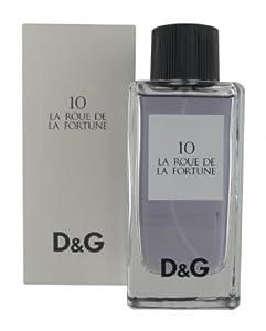DOLCE GABBANA DG 10 RUE DE LA FEMME LA FORTUNE EAU DE TOILETTE 50ML VAPO,