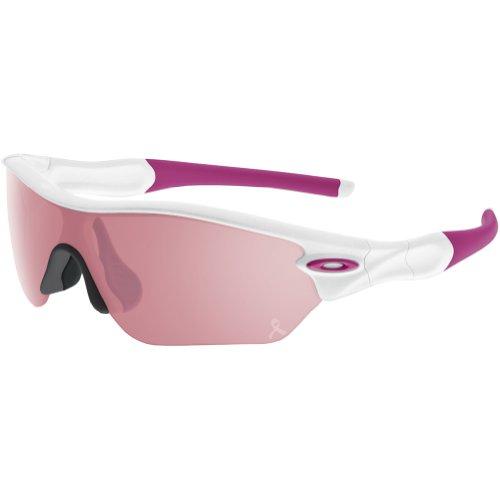 Oakley womens Radar OO9184-10 Iridium Sport Sunglasses,Olive,55 mm