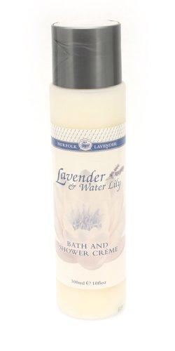Norfolk Lavender イングリッシュ ラベンダー&ウォーターリリー バス シャワー クリーム 300ml