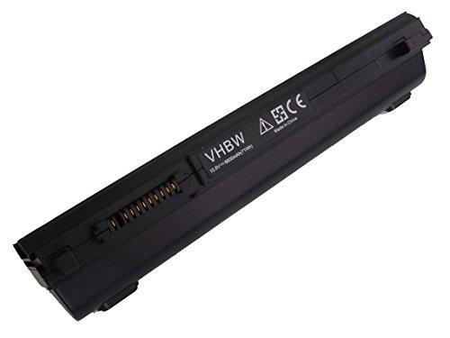 Batterie Li-Ion vhbw 6600mAh pour ordinateur portable, notebook Toshiba Dynabook R731/ B, R731/C, R731/W2JC, R731/W2MC. Remplace: PA3831U-1BRS