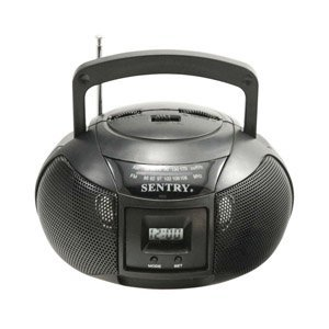 Sentry MBBRC AM/FM Mini Boom Box Radio