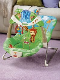 New Fisher-Price Rainforest Bouncer