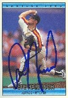 Pete Harnisch Houston Astros 1992 Donruss Autographed Hand Signed Trading Card. by Hall+of+Fame+Memorabilia