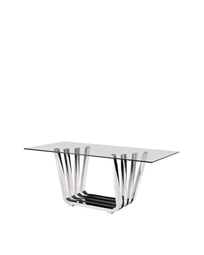 Zuo Fan Dining Table, Chrome