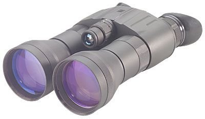 Night Optics D-221 Generation 2+ Standard Dual Tube Night Vision Binocular, Black Nb-221-2S