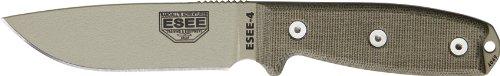 esee-4-plain-edge-knife-no-sheathing-blades-with-micarta-handles-desert-tan