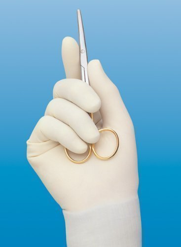 cardinal-triflex-sterile-latex-surgical-glove-size-7-powdered-box-of-40-model-2d7253-by-cardinal