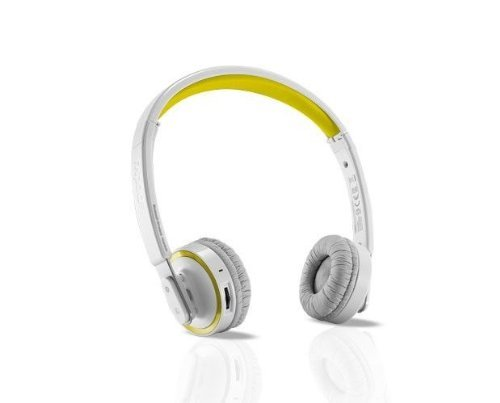 Rapoo H6080 Yellow Bluetooth 4.0 Com-Ti Membrane Foldable Wireless Headset Whit Built-In Microphone