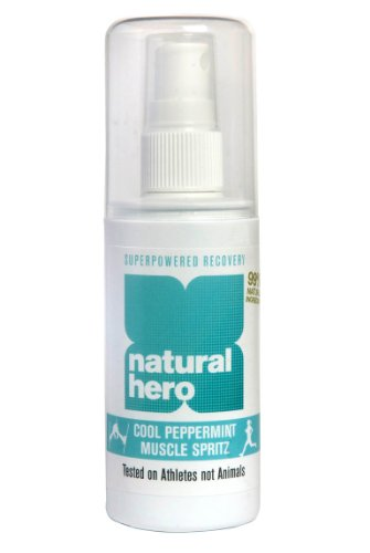 Natural Hero Cool Peppermint Muscle Spritz 100ml