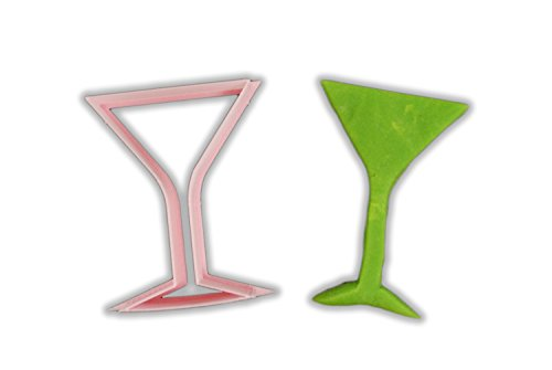 Martini Glass Cookie Cutter - MINI - 2 Inches (Martini Cookie Cutter compare prices)
